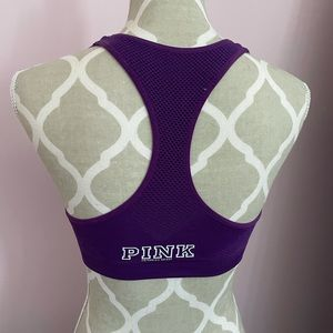 Purple Victoria secret sports bra